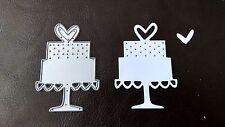 Sizzix Die Cutter WEDDING CAKE  Thinlits fits Big Shot Cuttlebug