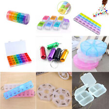 7 day Pill Box Daily Medicine Storage Tablet Sorter Month Case Organizer Tool