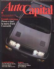 AUTO CAPITAL N. 8 AGOSTO  1986