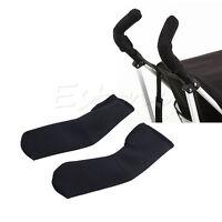 Soft Handle Bumble Bar 2x Baby Stroller/Pram/Buggy/Pushchair Grip Cover