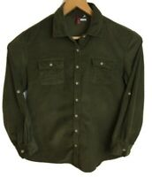 "Mac Dougal & Houston corduroy Shirt size large/XL long sleeve pit to pit 22"""