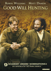 GOOD WILL HUNTING (dvd)****************disc only***********************