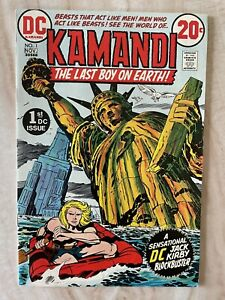 KAMANDI #1-1ST APPEARANCE AND ORIGIN-JACK KIRBY NM- 9.2 FREE SHIPPING!