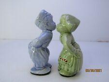 Vintage Ceramic Dutch Kissing Figurines