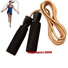 CORDA DA SALTO EFFEA in cuoio con manici in Eva antisudore Art.807 Jump Rope