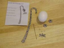 DIY Decorated Pigeon Egg Bookmark Kit Ready to Decorate Instructions