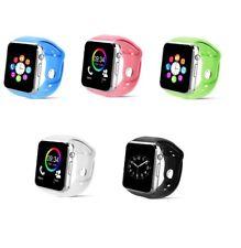 Luxus SmartWatch A1 Bluetooth Uhr iOS Android Samsung iPhone SONY SIM 8 Farben