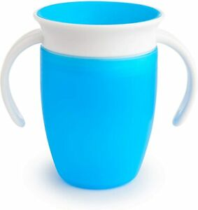 Munchkin Miracle 360 Degree Trainer Cup, 207 ml Capacity (colours may vary -BLUE
