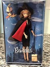 2010 Bewitched Elizabeth Montgomery Samantha Barbie Pink Label NRFB Worn Box