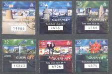 Guernsey-Europa Holidays set fine used cto-2004 Tourism