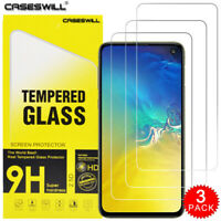For Samsung Galaxy S10e - Caseswill HD-Clear Tempered Glass Screen Protector X3