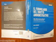 Il formulario del diritto amministrativo nicola centofanti la tribuna 2005 e CD