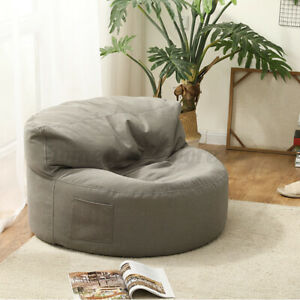 Bean Bag Cover Lazy Couch Sofa Chair Lounger Seat Protection Indoor