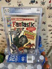 Fantastic Four Annual #2, 1964, PGX 4.0, ...Origin of Doctor Doom!