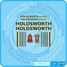 Holdsworth Equipe - Bicycle Decals Transfers Stickers - Black / Gold - Set 11