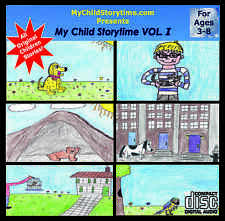 Children's My Child Storytime VOL. 1 Stories & Songs For Children On CD ages 3-8