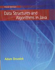 DATA STRUCTURES AND ALGORITHMS IN JAVA di Adam Drozdek 2008 Cencage Learning