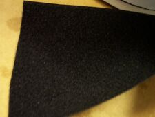 100mm wide  SEW ON  HOOK only tape, BLACK,