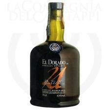 3  bt .RHUM EL DORADO 21 YO DEMERARA DISTILLERS TD