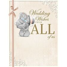 Me to You Wedding Wishes Congrats From All Of Us Card - Tatty Teddy Bear