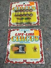 Two Life-Like Circus HO Scale Toys