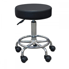 Stool Medical Doctor Office Furniture Lab Adjustable Dental Exam Chair Black 14