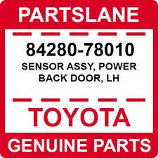 84280-78010 Toyota OEM Genuine SENSOR ASSY, POWER BACK DOOR, LH
