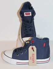 LEVI'S RED TAB BOYS TRUCKER HI TOP BOOTS - UK SIZE 13.5