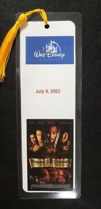 Disney Pirates of the Caribbean Bookmark - Hand Made - Choose Movie - 5 ml 8 x 3