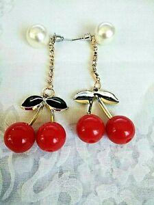 """Crystal  Dangling  Pierced Earrings - 3"""" long"""