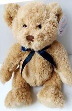 "Teddy Bear Rainbow Designs Honey & Cream Soft New Babys First Comforter 30cm 12"""