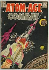 ATOM-AGE COMBAT #3 (Cold War / Science Fiction Stories, Nuclear War) Fago, 1959