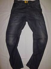 G-STAR RAW brand new men`s RILEY LOOSE TAPERED aged gray jeans W30 L32