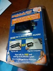 MagicJack Plus Local Long Distance Calling 430-0460-New & Factory Sealed