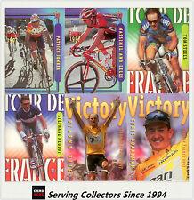 1997 Tour De France Trading Cards Complete Base Set (125)
