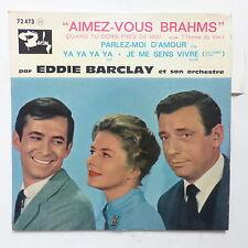 BO Film OST Aimez vous Brahms EDDIE BARCLAY 72473