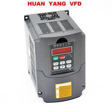Unidad de frecuencia variable de alta precisión INVERSOR VFD 1.5KW 220V 2HP 7A