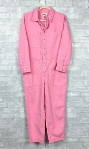 Madewell Petite Garment Dyed Relaxed Coverall Jumpsuit Sz M NEW $148