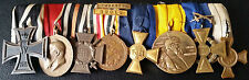 ✚7192✚ German WW1 mounted medal group Iron Cross China Medal Bavarian Medals