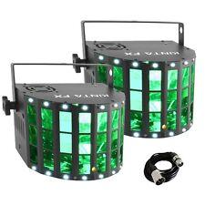 Chauvet Kinta FX (Pair) LED Derby Laser Strobe DMX DJ Disco Lighting Effect