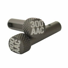 300 AAC Anodized Gray Extended Takedown Pins for .223