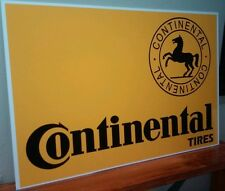 "Continental Tires Sign  16"" x 24"""