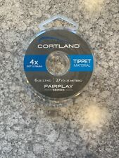 Cortland Fairplay 4X Tippet 605404 Free Shipping