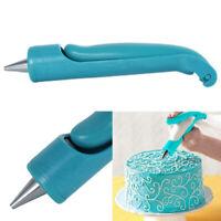 Pastry Icing Piping Bag Nozzle Tips Fondant Cupcake Cake Decorating Pen Tool Set