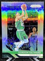 Gordon Hayward 2018-19 Panini Prizm Silver #158 Boston Celtics