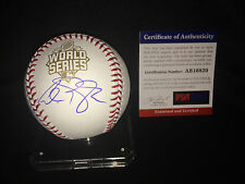 Alex Gordon Signed Official 2015 World Series Baseball 2015 WS Champs PSA/DNA #4