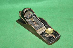 Fine User Antique Stanley Sweetheart Low Angle Block Plane Made in USA Inv#NY85