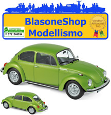Volkswagen VW Maggiolino 1972 Green Metallic 1:18 Beetle Verde NOREV Modellino