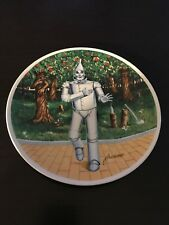 """Wizard of Oz Collector Plate - James Auckland """"If I Only Had a Heart�"""