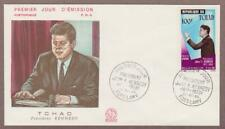 Chad Airmail JFK # C20 , John F Kennedy FDC - I Combine S/H